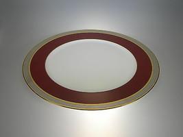 Noritake Ruby Coronet Round Platter Bone China Made in Japan - $58.86
