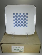 Noritake Aegean Sky Square Plates Set of 4 NEW IN BOX - $40.16