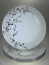 "Noritake Birchwood Accent Plates 9"" Set of 4 NE... - $42.97"
