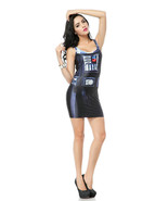 Star Wars I Am Your Father Black One-Piece Mini Skirt Bodycon Slim Stret... - $18.99