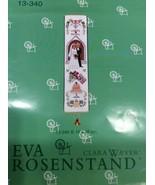 Eva Rosenstand Cross Stitch Kit Marriage Wedding Bell Pull Clara Weaver ... - $58.45