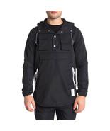 Asics Tiger Men's Premium Jacket, Black, Small - $77.22