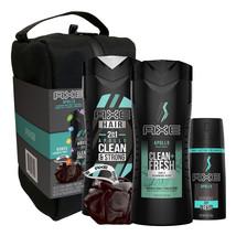 AXE Apollo Gift Set Body Spray, Body Wash 2-in-1 Shampoo conditioner Sho... - $32.59
