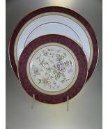 Royal Doulton Rosewood Dinner & Salad Plate - $16.78