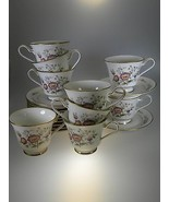 Noritake Asian Song 9 Cups & Saucers PLUS 2 extra Saucers PERFECT CONDITION - $27.07