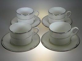 Lenox Tesoro Cups & Saucers Set of 4 NEW NEVER USED Made in USA - $45.49