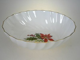 Royal Adderley Poinsettia Candy Dish Made in England - $17.72