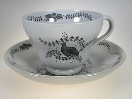 Wedgwood Partridge In a Pear Tree Cups & Saucers Set of 5 image 2