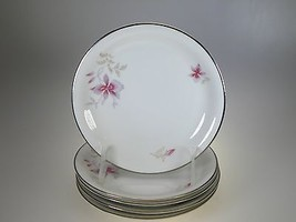 Rosenthal Orchid Form E Bread & Butter Plates Set of 5 - $27.73