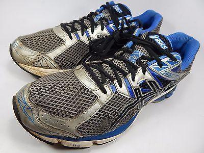 Asics GT 1000 v 3 Men's Running Shoes Size US 13 M (D) EU 48 Silver Blue T4K3N