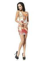 Star Wars Beauty Girls Princess Leia One-Piece Mini Skirt Bodycon Dress - $18.99