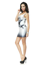 Star Wars Yoda Mini Skirt Bodycon Stretchy Black Milk Alternative Dress - $18.99