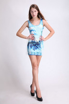 Cloud-Castle One-Piece Mini Skirt Bodycon Stretchy Women Summer Dress - $18.99