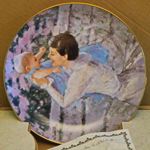 """1985 Mother's Day Hamilton Collection """"Mother's Angel"""" Collector's Plate - $4.95"""