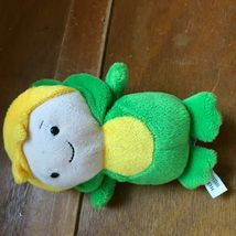 Ganz Small Caillou Friend Leo in Green Frog Costume Plush Stuffed Animal Doll –  image 3