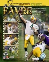 Brett Favre Green Bay Packers 421 TD Vintage 8X10 Color Football Memorabilia Pho - $6.99