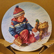 """1985 Hamilton Collection """"The Magic Of Childhood"""" 7th Issue Collector's Plate - $4.95"""