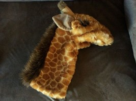 "Folkmanis 13"" Plush GIRAFFE Stage Hand Puppet Theater Play Toy Zoo Anima... - $14.50"