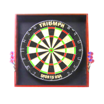 Triumph Sports Deluxe Backboard Combo Unit Dart... - $79.65