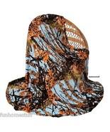 LIGHT POWDER BLUE CAMO Camouflage Woods New Luxury Soft Cashmere Blanket... - $31.95