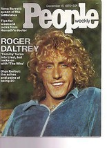 People Magazine Roger Daltrey  December 15, 1975 - $14.80