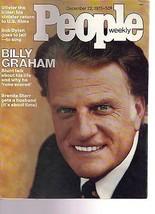 People Magazine Billy Graham December 22, 1975 - $14.80