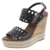 Montego Bay Club Women's PENNY CHOPOUT Wedge Sling Shoes Women Size 10M - $14.03