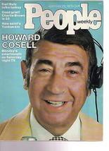 People Magazine Howard Cosell September 29, 1975 - $14.80