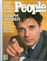 People Magazine Ralph   Nader   February 28   1977  - $24.74
