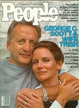People Magazine  GEORGE C SCOTT   FEBRUARY 7   1977  - $24.74