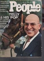 People Magazine Telly & His Pop April 19, 1978 - $34.64