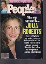 People Magazine Julia Roberts February 8, 1993 - $34.64