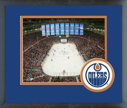 Rexall Place Final Game- April 6, 2016 - 11x14 Team Logo Matted/Framed Photo - $42.95