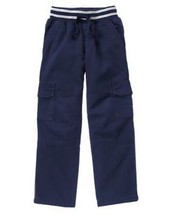 Gymboree Everyday All Star 8 the go Cargo Pants Pull on Lined  School Un... - $18.60