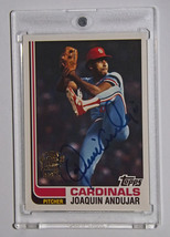 Joaquin Andujar, Autographed 2005 Topps All-Time Fan Favorites Baseball ... - $10.00