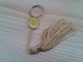 Fifth Pentacle of Sun Key ring. Invoke Spirits transport from a place to... - $19.99