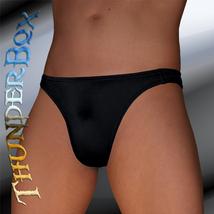 Lycra Spandex Black Contour Brief, Poser, Swim, Casual Size S, M, L, XL - $20.00