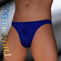Lycra Spandex Mydnyt Blue Contour Brief, Poser, Swim, Casual Size S, M, L, XL - $20.00