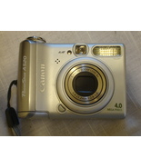 Canon Powershot A520 4MP Digital Camera with 4x Optical Zoom (OLD MODEL) - $15.00