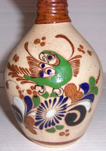 Tonala Handmade & Painted Ceramic Collectible Small Pottery Vase MEXICO by - $29.99