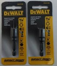"DeWALT DW2219IR 5/16"" Magnetic Nut Driver 1/4"" Shank Impact Ready 2pcs. - $8.17"