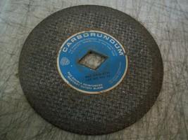 """Vintage 7"""" Dia Carborundum Masonry Cutoff Blade 1x1-1/4"""" Diamond Arbor RCC7A - $17.81"""