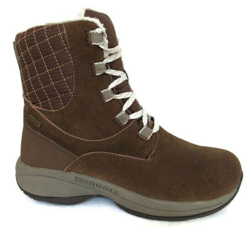 MERRELL JOVILEE ARTICA Women's Brown Lightweight Waterproof Boots #J310555C - $99.99