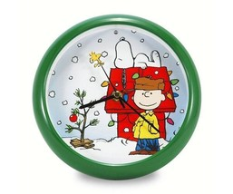 Peanuts Christmas Holiday Doghouse Clock - $14.95