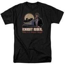 Knight Rider Retro 80's TV series Michael Knight graphic t-shirt NBC102 image 1