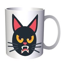 Cat Halloween Smiley 11oz Mug r549 - $203,52 MXN