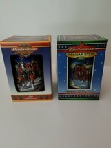 1999 20th Anniversary Budweiser Holiday Stein 2002 Collectibles in Box - $38.69