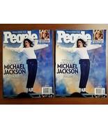 People Magazine Double Issue (2) Michael Jackson July 15th 2009 Both Backs - $17.33