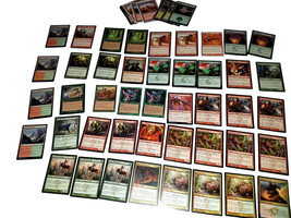 Magic the Gathering MTG Red / Green Bloodrush (60) Card Custom Starter Deck - $14.88