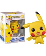 Pokemon Video Game Pikachu Waving POP Vinyl Figure #553 FUNKO NEW NIB - $8.79